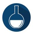 tube test laboratory icon vector image