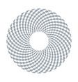 arrows in circle pattern vector image vector image