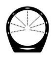 circular loop shower vector image vector image