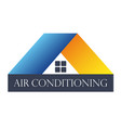 home air conditioner vector image vector image