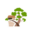 House-On-Tree-380x400 vector image vector image