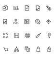 Productivity and Development Icons 8 vector image