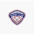 rugclub badges logo-12 vector image
