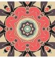 Seamless mandala pink color for greeting card vector image vector image