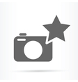 camera best image symbol icon vector image vector image