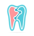 Dental logo design for dentist or dental clinic