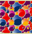 background from varicoloured circle vector image vector image