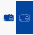 camera photography capture photo aperture line vector image vector image