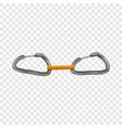 carabine in bunch icon cartoon style vector image