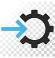 Cog Integration Icon vector image vector image