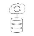 Database data center icon image
