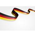 german flag background vector image vector image