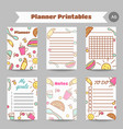good morning printables breakfast menu for cafe vector image vector image