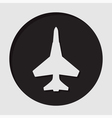 information icon - fighter vector image vector image