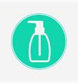 liquid soap icon sign symbol vector image vector image