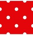 Pattern polka dot vector image vector image