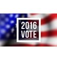 Presidentioal elecction in USA vector image