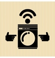 smart appliances design vector image
