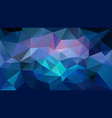 Abstract irregular polygonal background