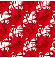 abstract seamless pattern with red watercolor vector image