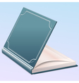 Book Half Opened vector image