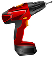 electric screwdriver vector image vector image