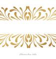elegant card design wit hand drawn elements vector image