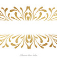 elegant card design witn hand drawn elements vector image vector image