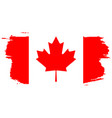 happy canada day july 1 holiday celebrate card vector image