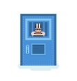 isolated prisoner in jail vector image