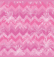 palm pattern vector image vector image