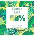 Summer sale Design vector image vector image