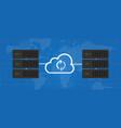 sync server data mirroring global synchronization vector image