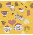 tea time vector image vector image