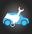 auto repair vector image vector image