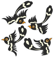 Bird cartoon design vector | Price: 1 Credit (USD $1)