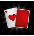 Casino royal games design vector image vector image