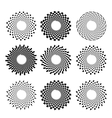 Circle Symbols vector image vector image
