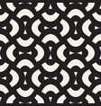 Geometric seamless pattern with curved shapes