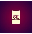 icon barrels of oil vector image