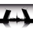 Sankt Petersburg vector image vector image