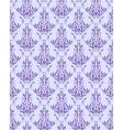 violet seamless floral texture vector image