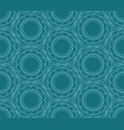 abstract geometry circle background vector image vector image