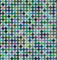 Colorful angular square pattern background vector image vector image