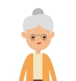 elder woman icon vector image