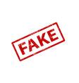 Fake stramp sign