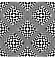 Abstract black and white background vector image vector image
