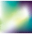 abstract colorful halftone banner background vector image vector image