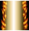 burning backdrop vector image vector image