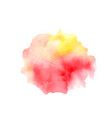 colorfull watercolor texture modern graphic vector image vector image